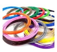 Пластик ABS ЛЮКС для 3D-ручки + доставка   Набор из 15 цветов