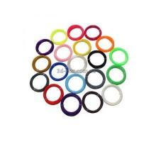 Пластик ABS ЛЮКС для 3D-ручки + доставка   Набор из 20 цветов   3D-Box