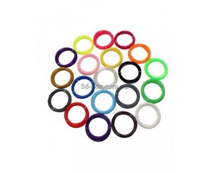 Пластик ABS ЛЮКС для 3D-ручки + доставка | Набор из 20 цветов | 3D-Box