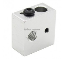 Алюминиевый нагревательный блок hotend MK7/MK8/E3d