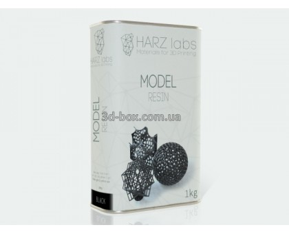 Модельный фотополимер | HARZ Labs | 345-410нм | 1л | Пластик для 3d-принтера
